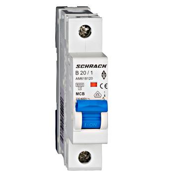 Автоматический выключатель AM617120 6 kA C 20A 1P